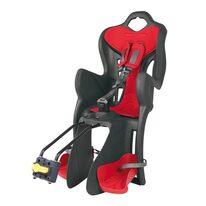 Dviračio kėdutė BELLELLI B-One gale ant dviračio rėmo max 22kg (pilka/raudona)
