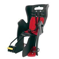 Dviračio kėdutė BELLELLI Little Duck gale ant dviračio rėmo max 22kg (pilka/raudona)