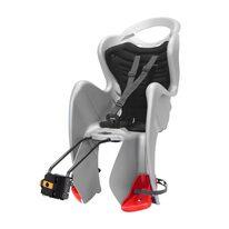 Dviračio kėdutė BELLELLI Mr. Fox Relax B-FIX gale ant dviračio rėmo, max 22kg, reguliuojama (pilka/juoda)