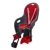 Детские велокресла BIKEY Relax на раме, регулируемый, макс. 22кг (серый/красный)