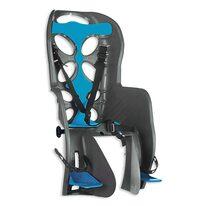 Dviračio kėdutė 'Nfun Curioso ant dviračio bagažinės max 22kg (tamsiai pilka/mėlyna)