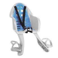 Dviračio kėdutė 'Nfun Sicuro ant dviračio priekio max 15kg (balta/mėlyna)
