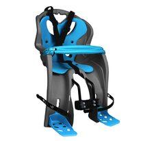 Dviračio kėdutė 'Nfun Simpatico ant dviračio priekio su skersiniu max 15kg (pilka/žalia)