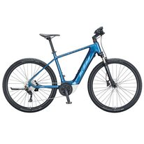 """Elektrinis KTM Macina CROSS P610 28"""" 10G dydis 22"""" (56cm) (mėlyna) 021349116"""