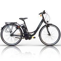 """Elektrinis ORTLER N7 28"""" dydis 19"""" (48cm) (juodas/pilkas)"""
