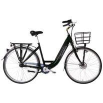 """FORCE Elektrinis dviratis moteriškas 28"""" dydis 19"""" (49cm) (juoda)"""