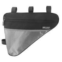 Trikampis rėmo krepšys FORCE Large Eco 2,5l (juodas)