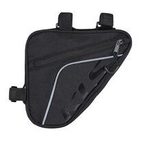 Dviračio krepšys ant rėmo KLS Wedge Eco, 0,9l (juoda)