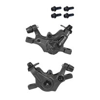 Front and rear brake supports, mechanic, FORCE Dual MTB
