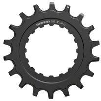 Žvaigždė priekinė SRAM Bosch 18T, plieninė (juoda)