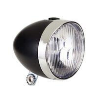Priekinis žibintas, 3 LED, (juodas)