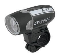 Front light Force Alex (black) 3 functions 30 lum 4 led