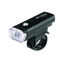 Front light FORCE Lux 100LM with batteries (black)