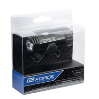 Priekinis žibintas FORCE PEN MINI 150LM USB mini (juoda)