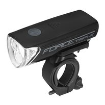Front light FORCE Triple 19LM, 3xAAA, 3 functions (black)