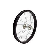 """Priekinis ratas 16"""" 20H sidabrinė stebulė (aliuminis, juoda)"""