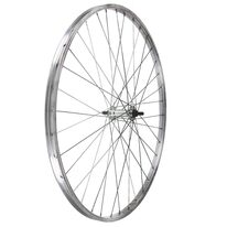 Priekinis ratas 26 1 3/8 (590) pramoniniai guoliai, 36H (sidabrinis)