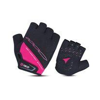 Pirštinės BONIN B-Race Bump Lady Gel (juoda/rožinė)