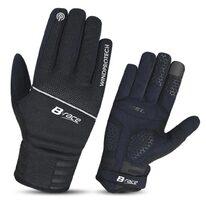 Pirštinės BONIN B-Race Windproof (juodos) L