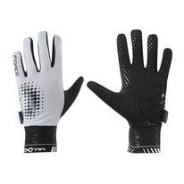 Gloves FORCE Extra spring/autumn (white/black) M