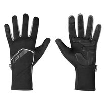 Перчатки FORCE Gale softshell (черный) L