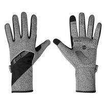 Перчатки FORCE Gale softshell (серый) L
