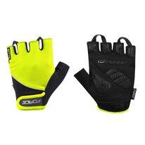 Gloves FORCE Gel II (black/fluorescent)