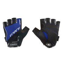 Gloves FORCE Grip (black/blue)