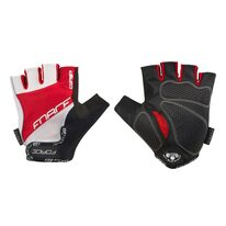 Gloves FORCE Grip (black/red/white) L