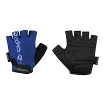 Gloves FORCE Kid II (black/blue)