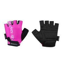 Gloves FORCE Kid II (black/pink)