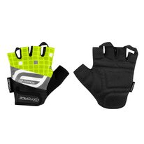 Gloves FORCE Square (black/fluorescent)