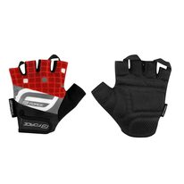 Gloves FORCE Square (black/red) XS