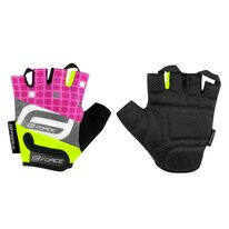 Gloves FORCE Square Kid (fluorescent/pink) S