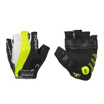 Gloves FORCE Stripe (black/fluorescent)