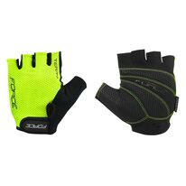 Gloves FORCE Terry (fluorescent/black)