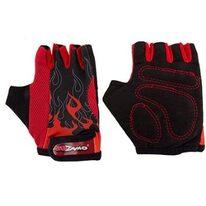 Gloves KidZamo Flame (red/black) size S
