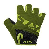 Pirštinės KLS Lash (tamsiai žalia) XS