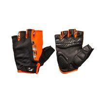 Pirštinės KTM Factory Youth, trumpos (juoda/oranžinė) XS