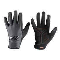 Gloves KTM FT spring/fall (black/grey)