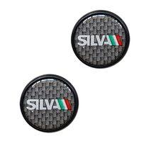Handlebar end plugs SILVA (carbon)