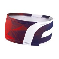 Headband FORCE FIT sport (blue/red) UNI