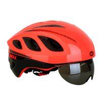 Šalmas BELL Star Pro 59-63cm su akiniais (neoninė oranžinė)