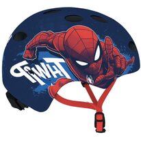 Šalmas DISNEY Bmx/Skate Spiderman S/M 54-58cm (mėlynas)