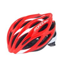 Helmet FORCE Bat 57-61cm L-XL (red/white)
