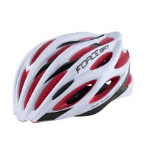 Helmet FORCE Bat 57-61cm L-XL (white/red)