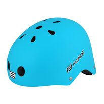 Helmet FORCE BMX 54-58cm S-M (matt blue)