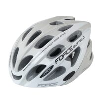 Helmet FORCE Buffalo 54-58cm (S-M) (grey/white)