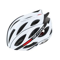 Helmet FORCE Bull 54-58cm S-M (white/black)
