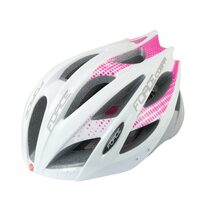 Helmet FORCE Cobra 58-63cm L-XL (white/pink/grey)